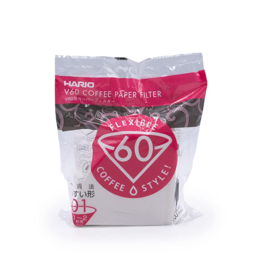Hario V60 Filter Papers (Size 01 – 100 pack)