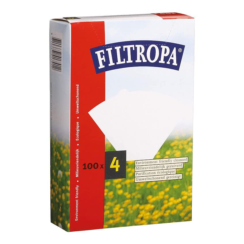 Filtropa Filter Papers (Size 04 – 100 pack)