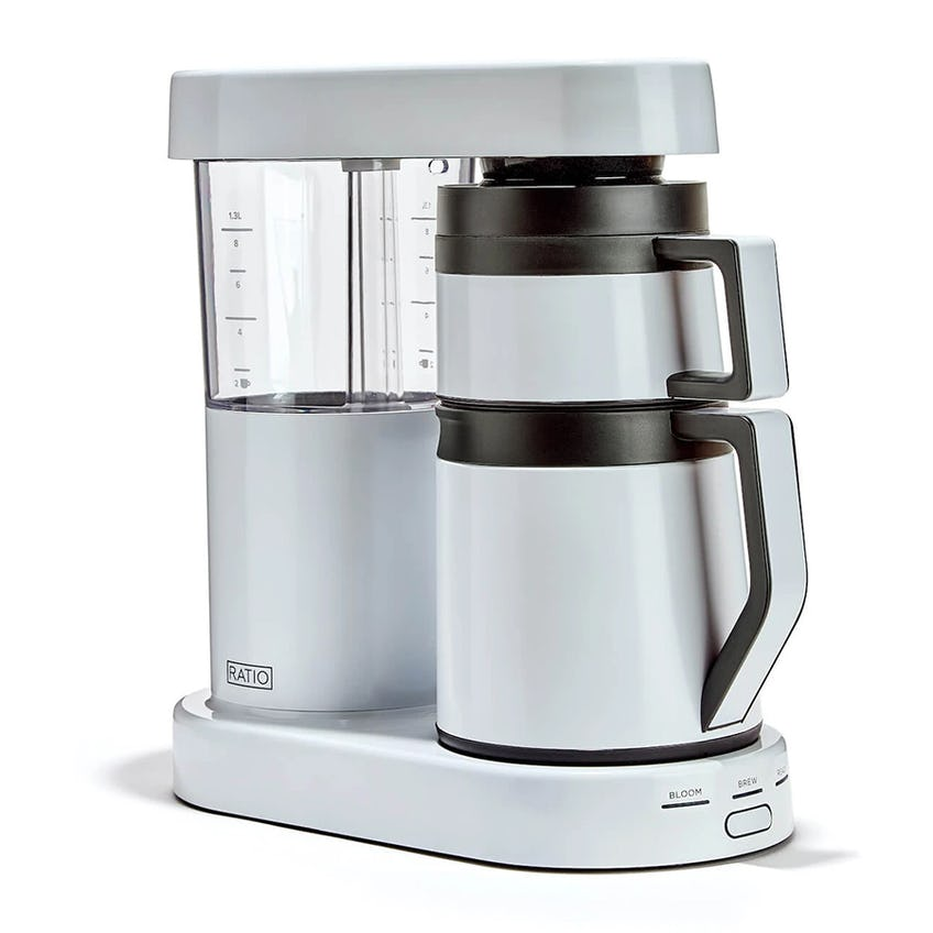 Ratio Six Coffee Maker (10 Cup/1,250ml – White)