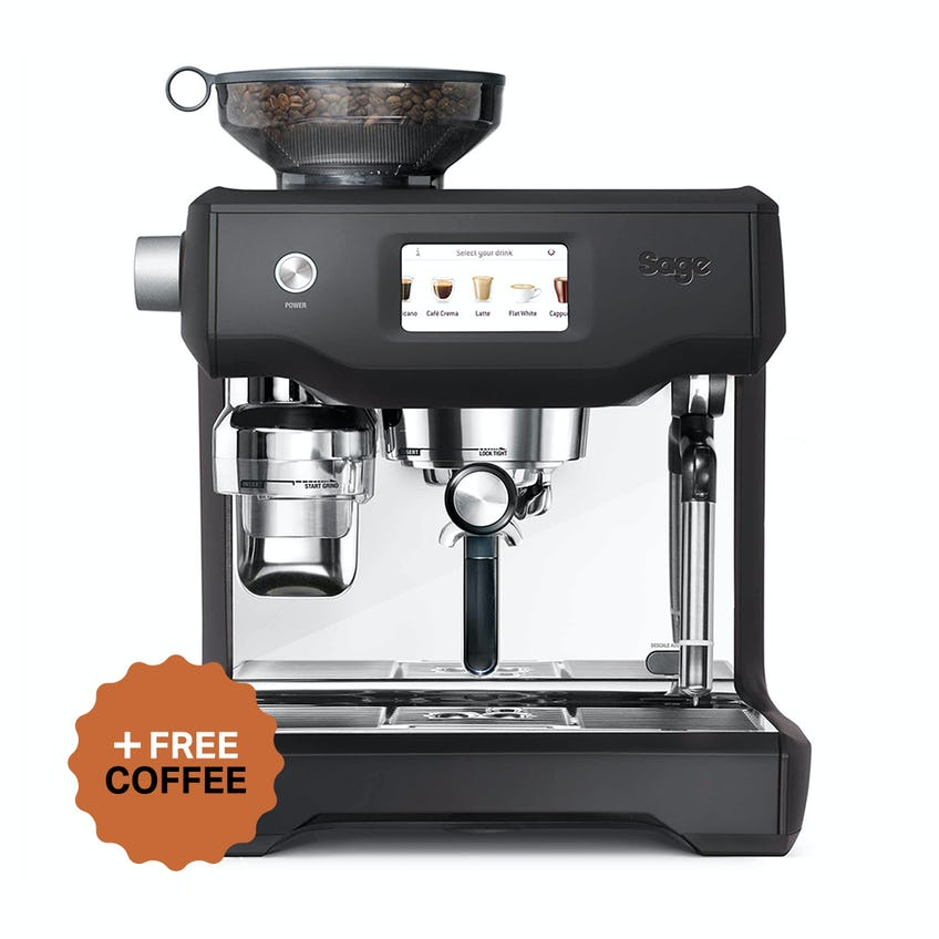 Sage Oracle Touch Espresso Machine (Black) + FREE Coffee